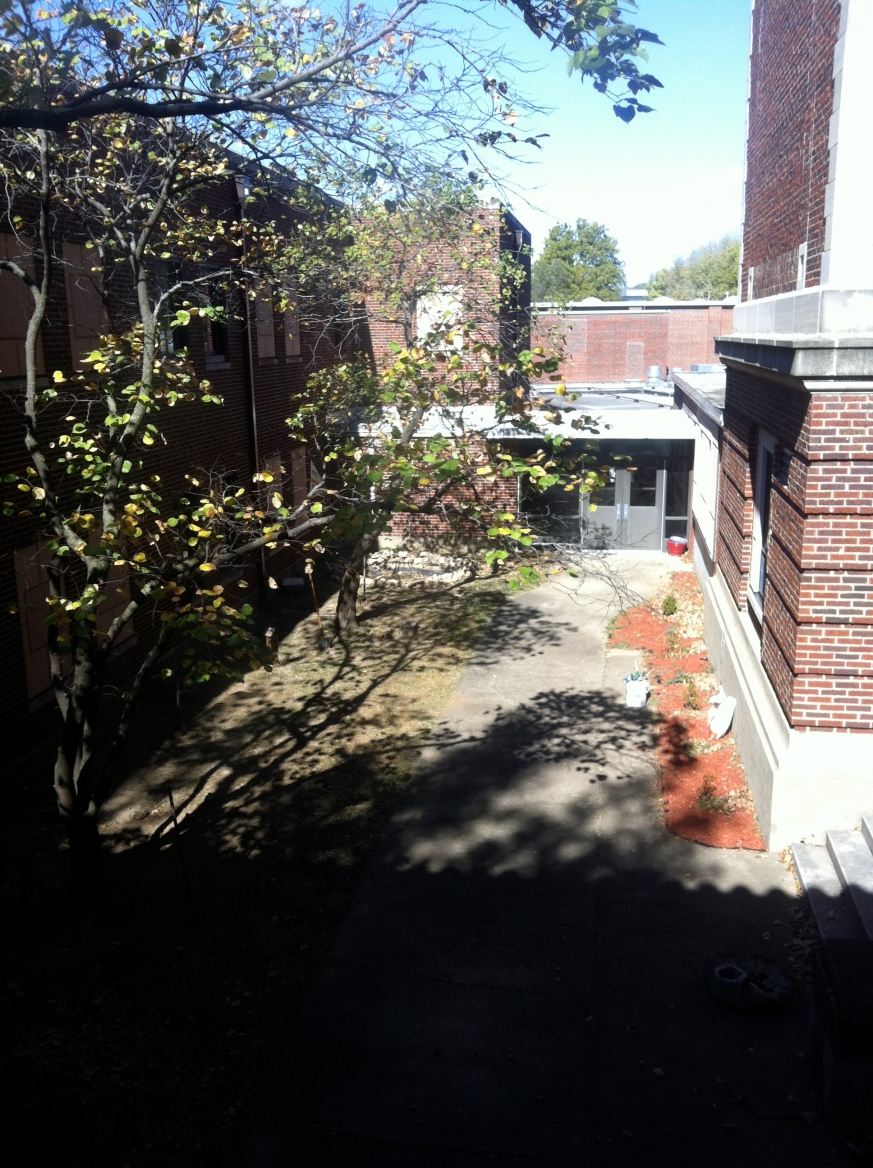 The Courtyard at Northwest Middle School